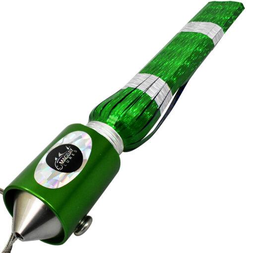 Sincero 16o Green Anodized Wahoo Lure