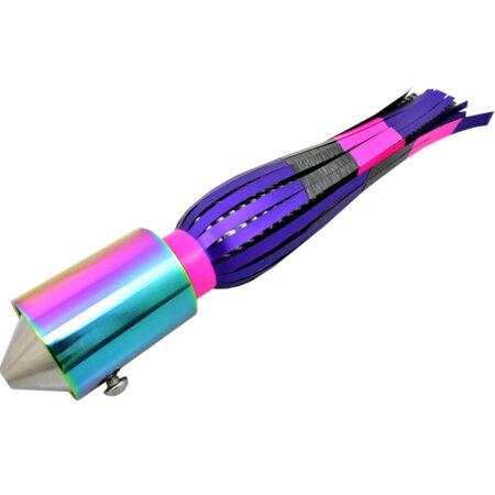 Sincero Sr Iridescent Pink Purple Skirt Wahoo Lure