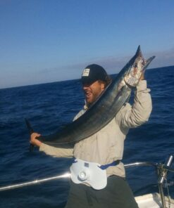 Wahoo caught on OG Wahoo Bomb by MagBay lures