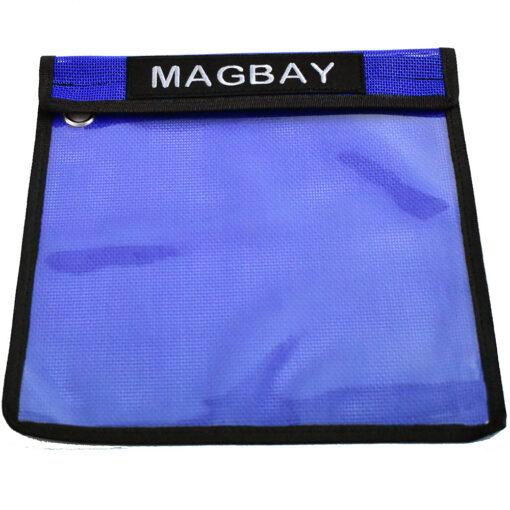 Individual Blue velcro lure bag