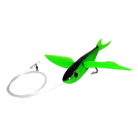 Green Flying Fish Rigged