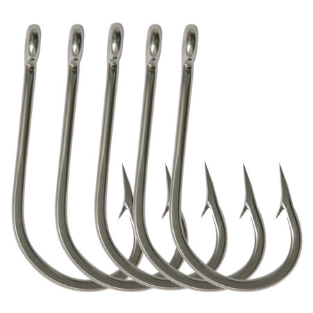 SS forged hooks fishing terminal tackle
