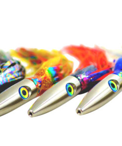 Multi-colored Plomero Wahoo Lures