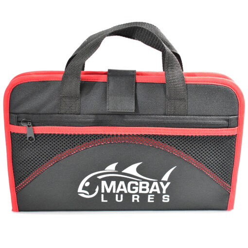 Protective jig lure bags red