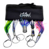 tournament wahoo 5 pack lure set