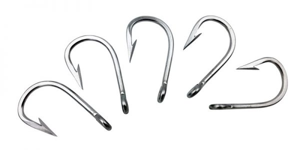 Stainless Steel Rigging Hooks for Trolling and Rigging