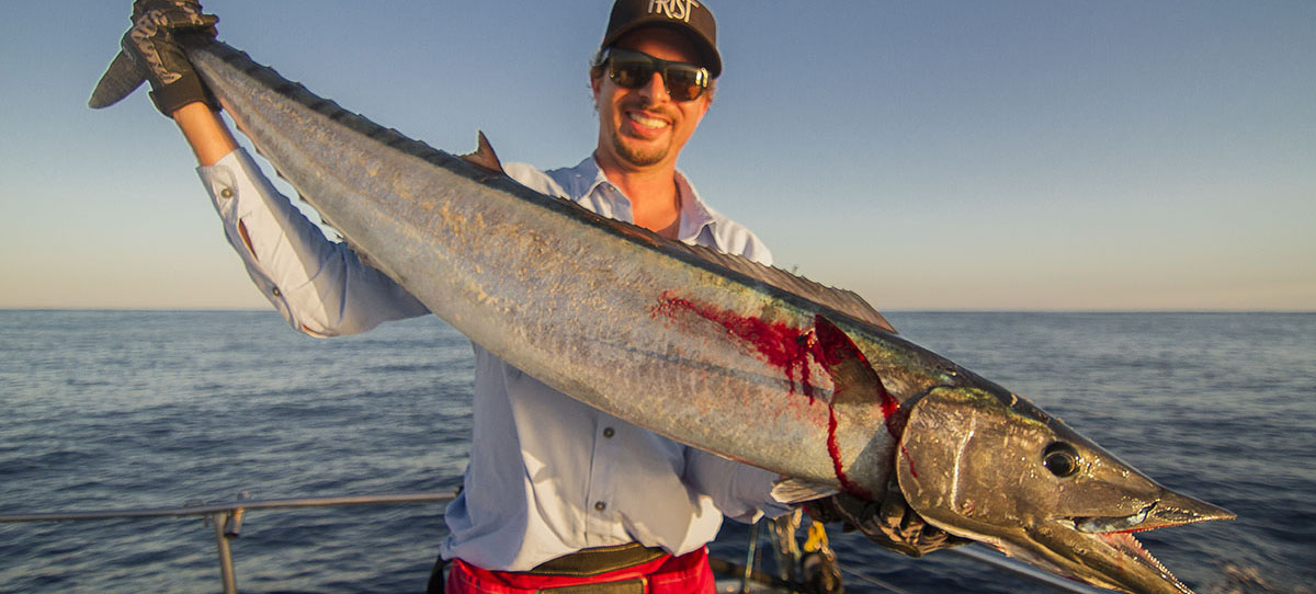 Nice Wahoo Fishing Out of MagBay