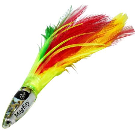Mx flag tuna feather lure