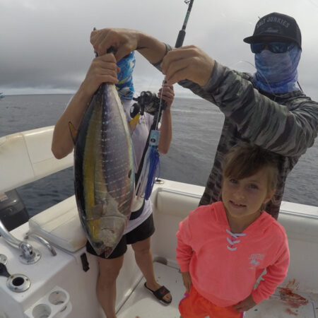 Yellowfin Tuna on Mini Meat Lure