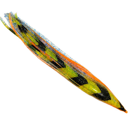 Orange Green replacement marlin lure skirts