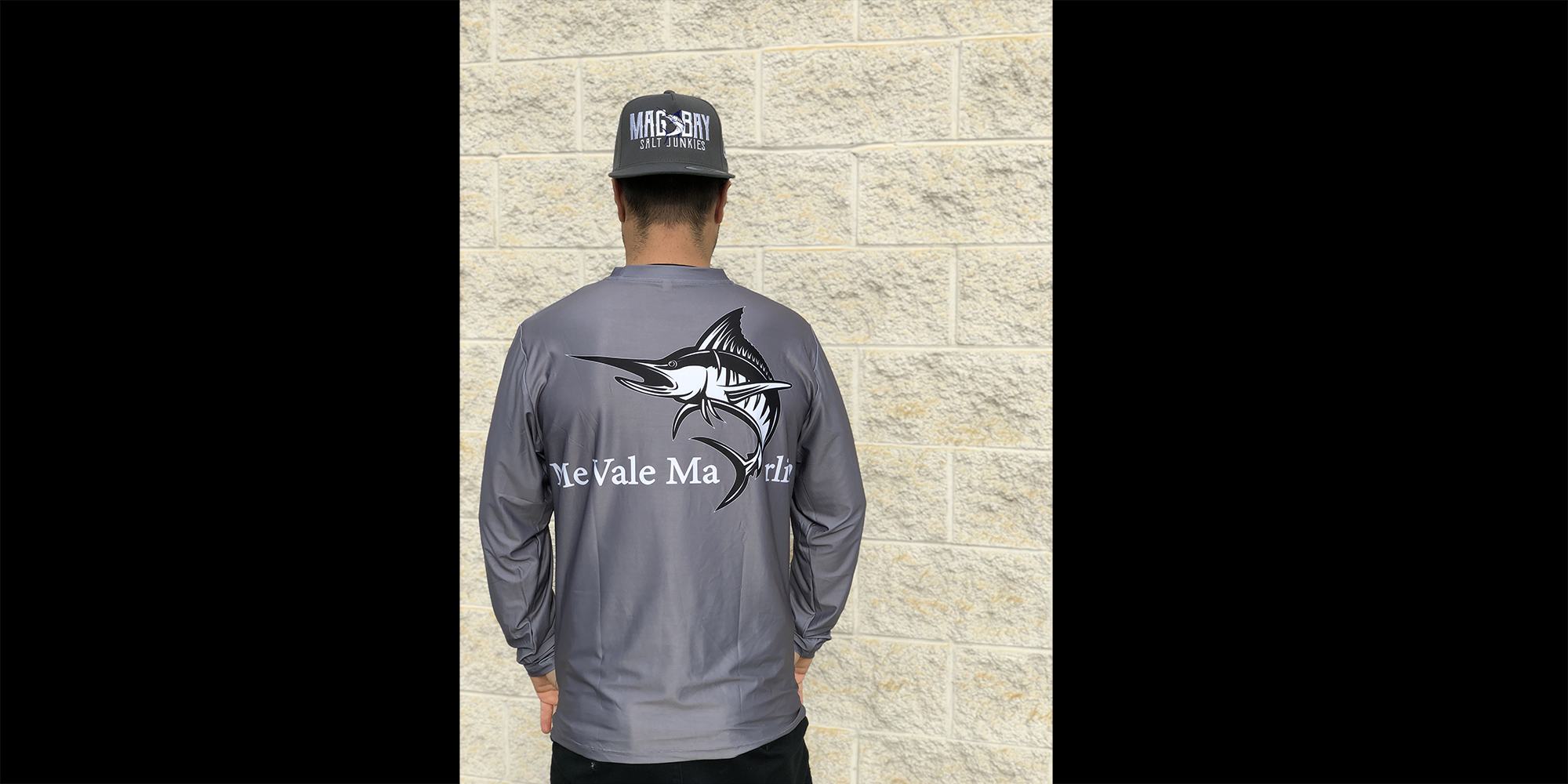 Me Vale Marlin Performance Fishing Shirt