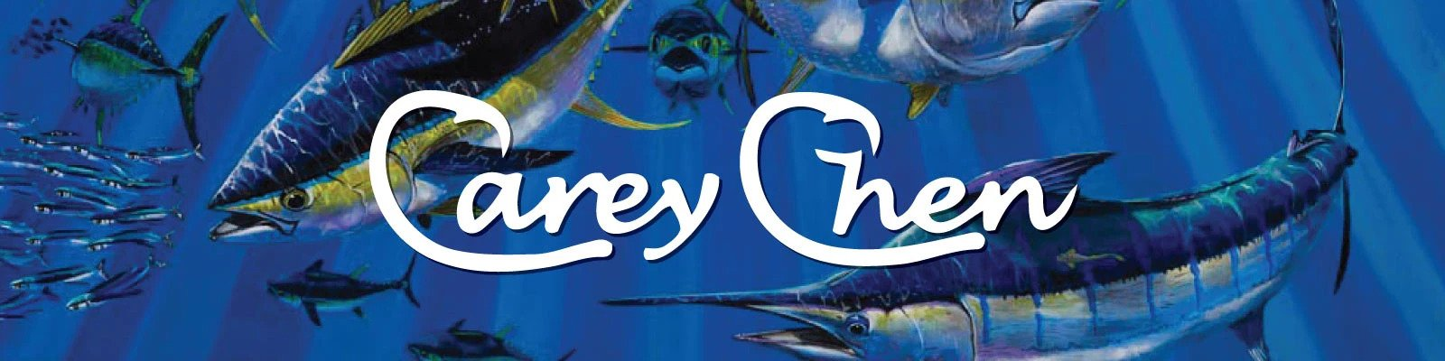 Carey Chen Big Game Lures Banner