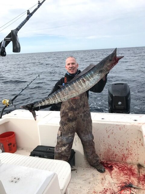 Nice Wahoo On High Speed Wahoo Lure Plomero