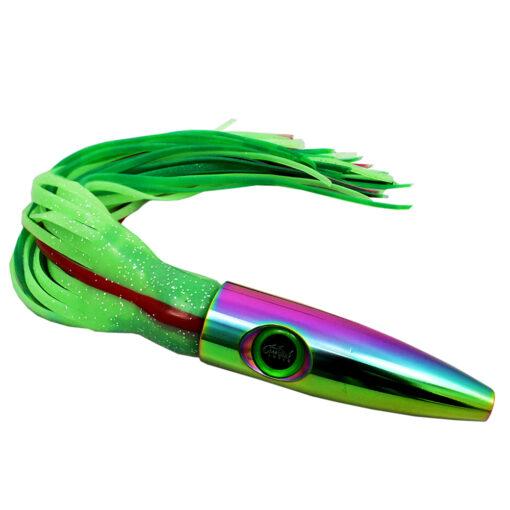 Plomero Iridescent Green Wahoo Lure