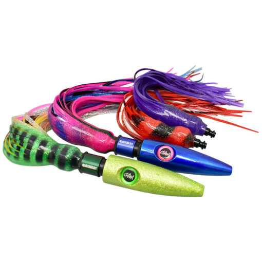 QuickSkirt System on wahoo lures